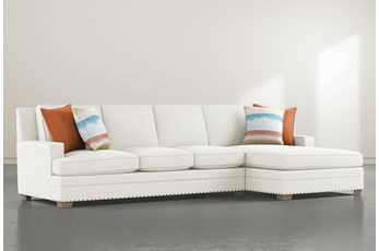 Pamela II 2 Piece Sectional With Right Arm Facing Chaise