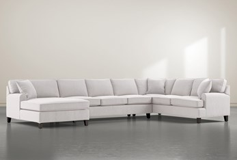 """Donaver II 3 Piece 163"""" Sectional With Left Arm Facing Chaise"""