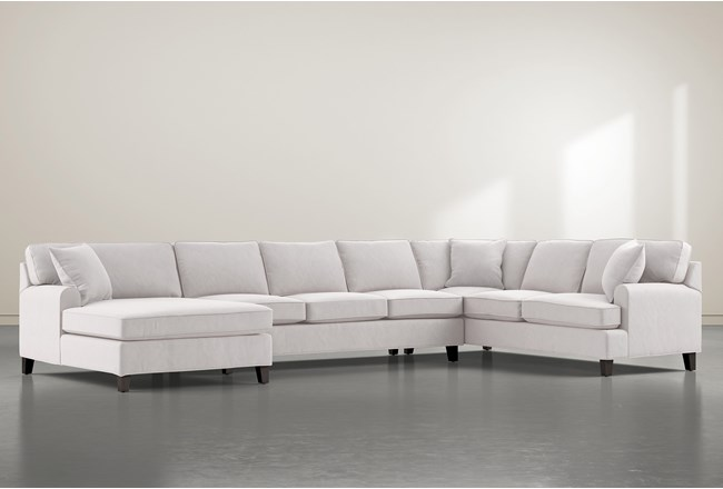 """Donaver II 3 Piece 163"""" Sectional With Left Arm Facing Chaise - 360"""