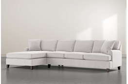 "Donaver II 2 Piece 131"" Sectional With Left Arm Facing Chaise"