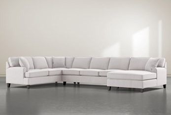 """Donaver II 3 Piece 163"""" Sectional With Right Arm Facing Chaise"""