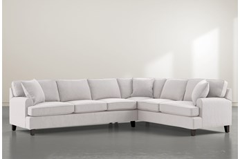 "Donaver II 2 Piece 125"" Sectional With Left Arm Facing Sofa"