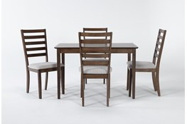 Aldaire 5 Piece Rectangle Dining Set