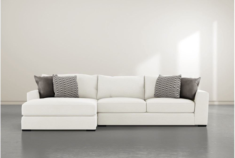 Delano Pearl 2 Piece Sectional With Left Arm Facing Chaise