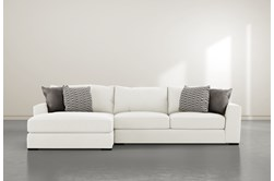 "Delano Pearl 2 Piece 125"" Sectional With Left Arm Facing Chaise"