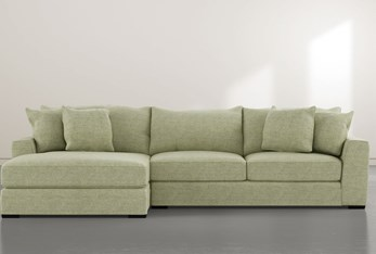 """Delano Ivy 2 Piece 125"""" Sectional with Left Arm Facing Chaise"""