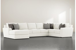 "Delano Pearl 3 Piece 169"" Sectional With Left Arm Facing Chaise"