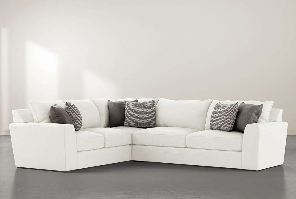 Delano Pearl 2 Piece Sectional With Right Arm Facing Sofa