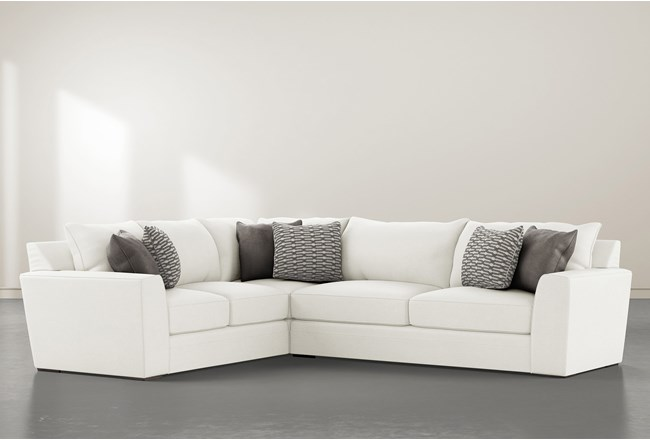 Delano Pearl 2 Piece Sectional With Right Arm Facing Sofa - 360