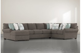 Aurora II 3 Piece Sectional With Left Arm Facing Chaise