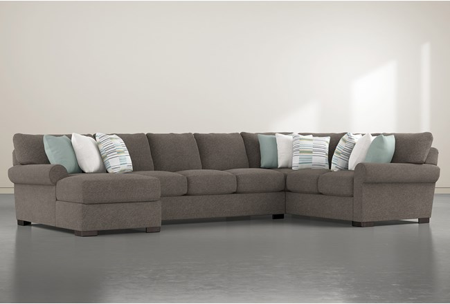 Aurora II 3 Piece Sectional With Left Arm Facing Chaise - 360