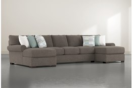 Aurora II 3 Pc Sectional With Double Chaise