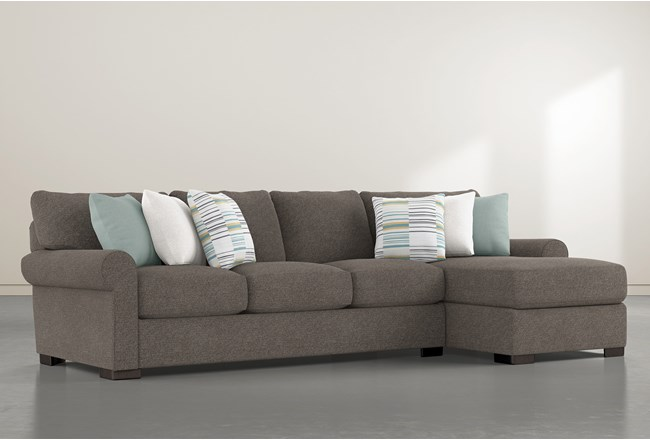 Aurora II 2 Piece Sectional With Right Arm Facing Chaise - 360