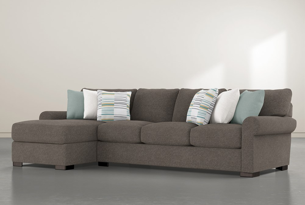 """Aurora II 2 Piece 131"""" Sectional With Left Arm Facing Chaise"""