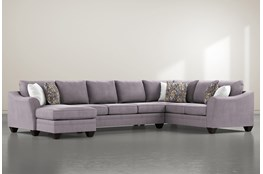 Mesa Foam II 3 Piece Sectional With Left Arm Facing Chaise