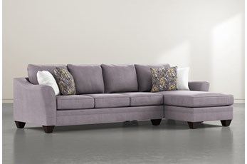 Mesa Foam II 2 Piece Sectional With Right Arm Facing Chaise