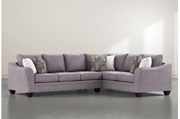 Mesa Foam II 2 Piece Sectional With Left Arm Facing Sofa
