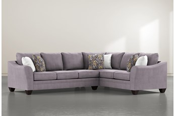 Mesa Foam II 2 Piece Sectional With Left Arm Facing Sofa