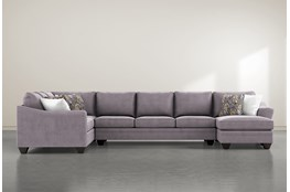 Mesa Foam II 3 Piece Sectional With Right Arm Facing Chaise