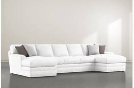 "Prestige Down 3 Piece 156"" Sectional With Double Chaise"