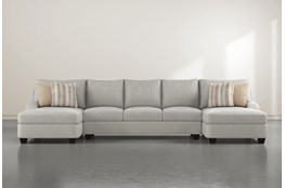 Sierra Foam III 3 Piece Sectional With Double Chaise