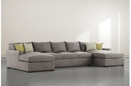 Cohen Foam II 3 Piece Sectioal With Double Chaise
