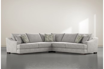 "Lodge Fog 3 Piece 135"" Sectional"