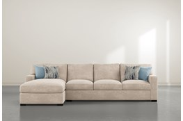 "Mercer Foam III 2 Piece 125"" Sectional With Left Arm Facing Chaise"