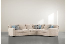"Mercer Foam III 2 Piece 130"" Sectional With Left Arm Facing Sofa"