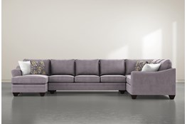 "Mesa Down II 3 Piece 157"" Sectional With Left Arm Facing Chaise"