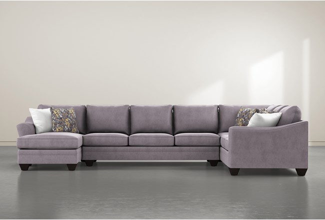 """Mesa Down II 3 Piece 157"""" Sectional With Left Arm Facing Chaise - 360"""