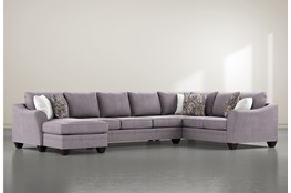 Mesa Down II 3 Piece Sectional With Left Arm Facing Chaise