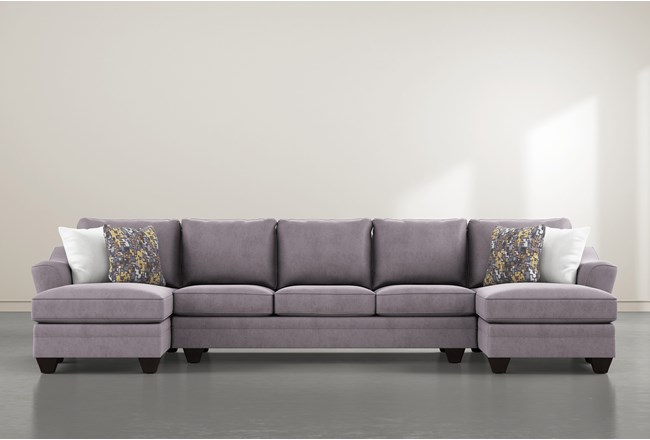 Mesa Down II 3 Piece Sectional With Double Chaise - 360