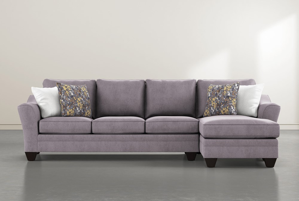 """Mesa Down II 2 Piece 124"""" Sectional With Right Arm Facing Chaise"""