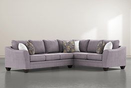 """Mesa Down II 2 Piece 125"""" Sectional With Left Arm Facing Sofa"""