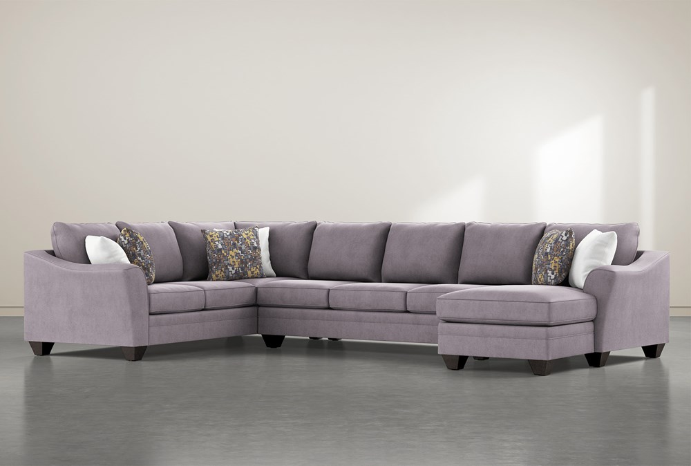 Mesa Down II 3 Piece Sectional With Right Arm Facing Chaise
