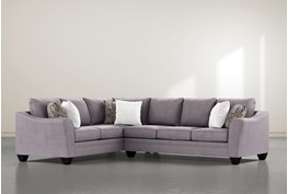 """Mesa Down II 2 Piece 125"""" Sectional With Right Arm Facing Sofa"""