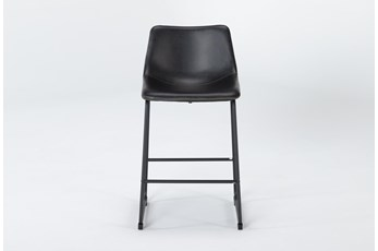 Cobbler Black 26 Inch Counter Stool