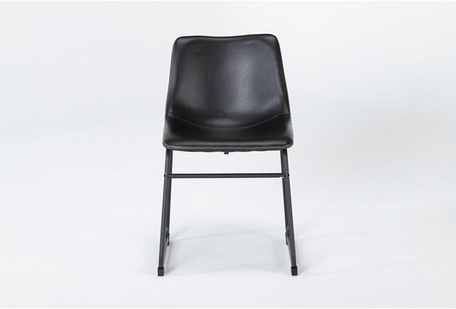 Cobbler Black Dining Side Chair - 360