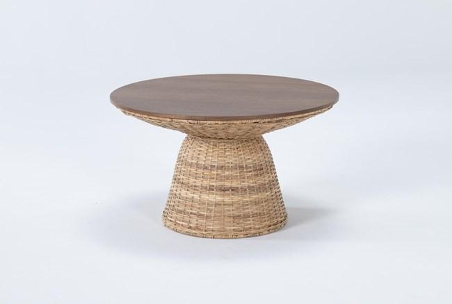 Zina Round Coffee Table - 360