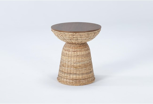 Zina Round End Table - 360