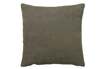 Accent Pillow-Corduroy Mocha 22X22 By Nate Berkus and Jeremiah Brent