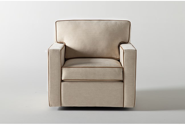 Reeves Swivel Accent Chair By Nate Berkus And Jeremiah Brent - 360