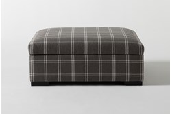 Norah Smoke Accent Storage Ottoman By Nate Berkus And Jeremiah Brent