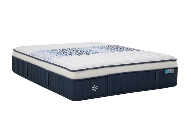 CoolTek Copper Springs Plush Full Mattress - 360