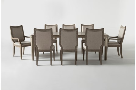 Regent 9 Piece Extension Dining Set With Side And Arm Chairs