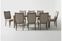 Regent 9 Piece Extension Dining Set With Side Chairs