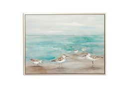 Picture-Seagulls On The Coast 47X36