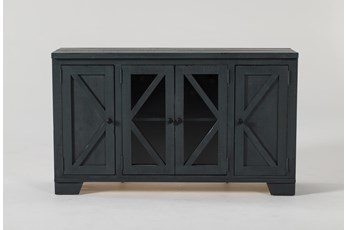 Sinclair Blue Lagoon 54 Inch TV Stand