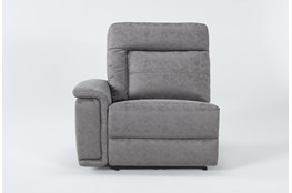 Huntley Stone Left Arm Facing Power Recliner With USB